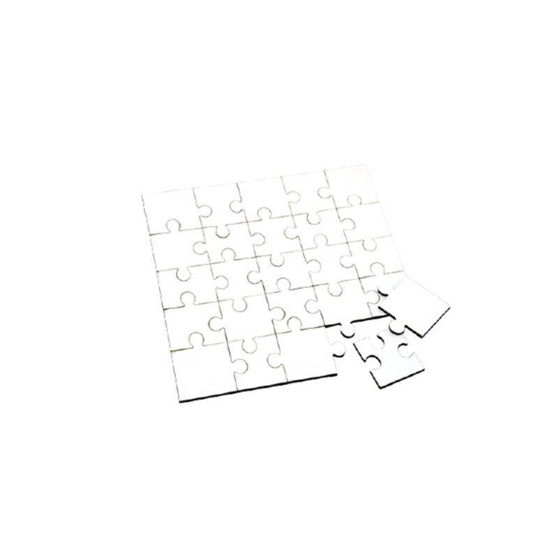 MDF Puzzle Square Shape 25pcs
