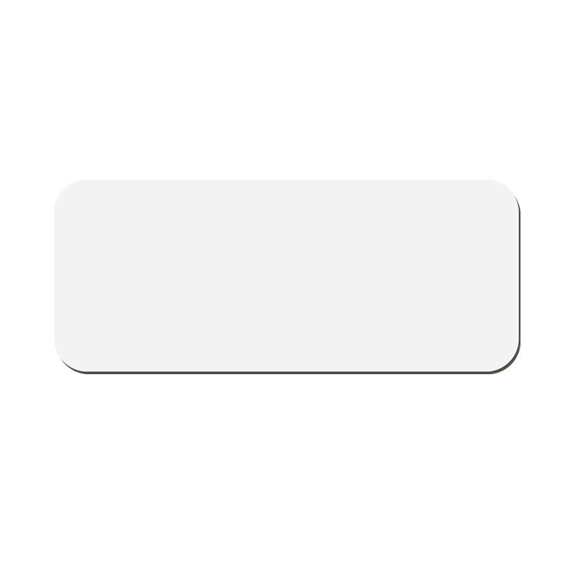 sublimation mdf name badge