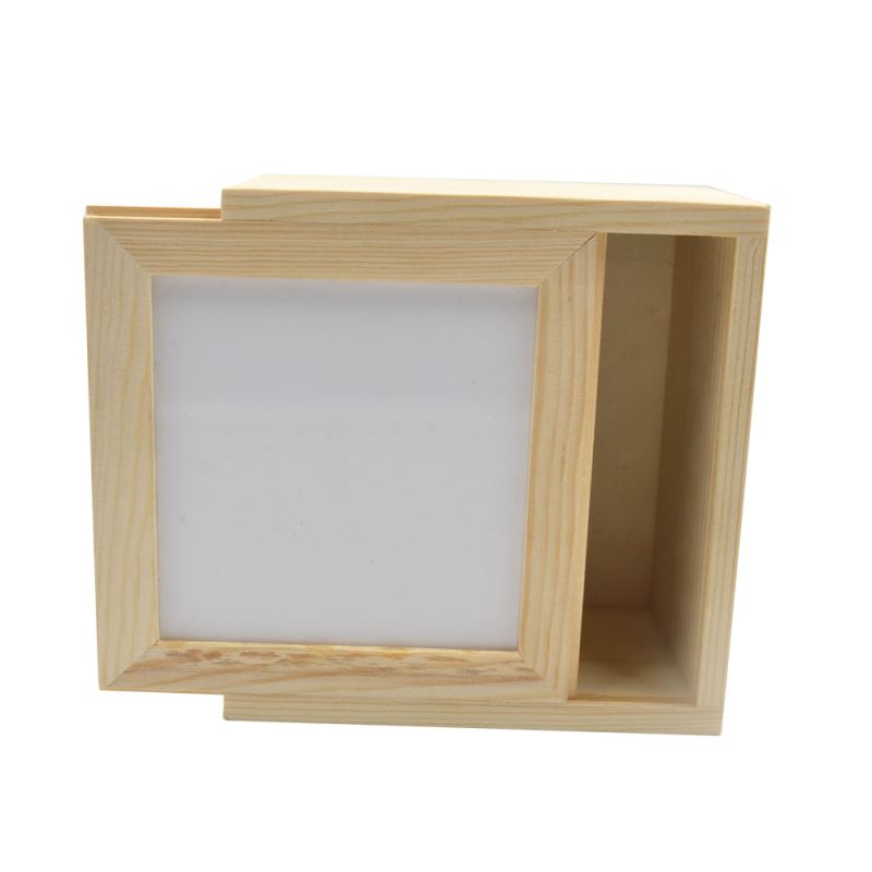 Wooden Jewelry Box With MDF Insert