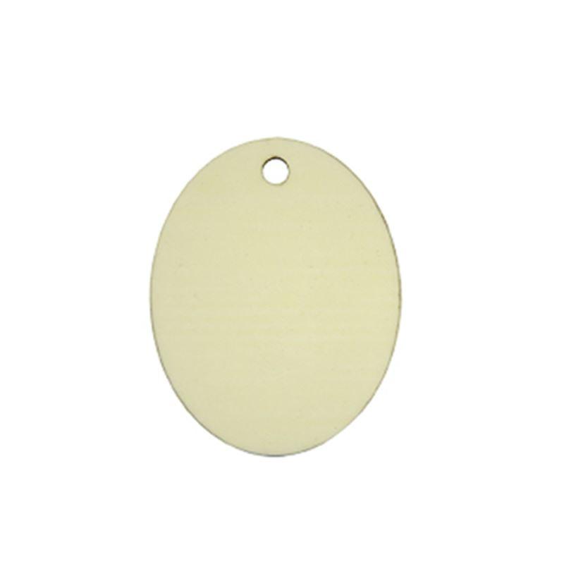 MDF Ornaments Oval Shape