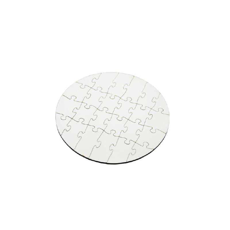 MDF Puzzle circle shape 24pcs