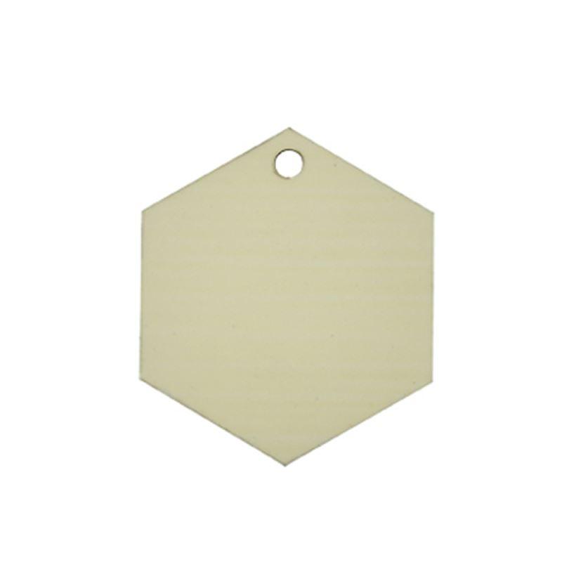 MDF Ornaments-Hexagon Shape