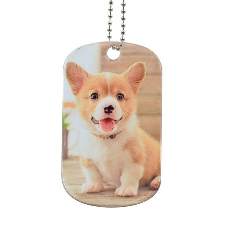sublimation blank stainless steel dog tags