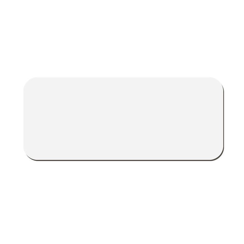 MDF Name Badge with Magnet - Rectangle