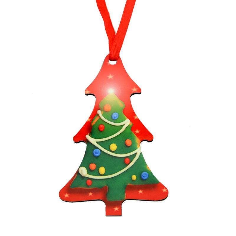 MDF Ornaments-Tree Shape