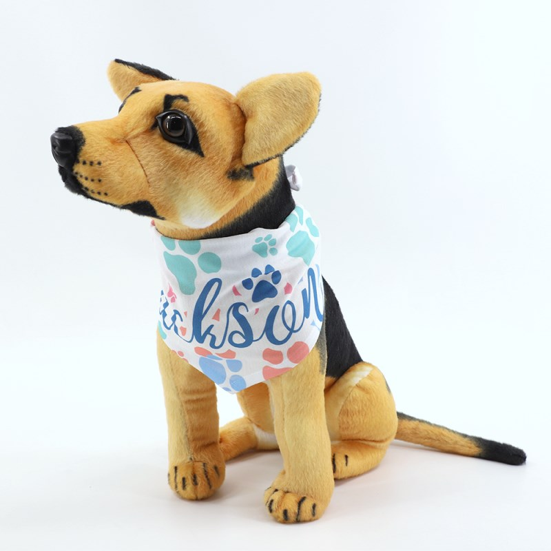 sublimation dog bandana