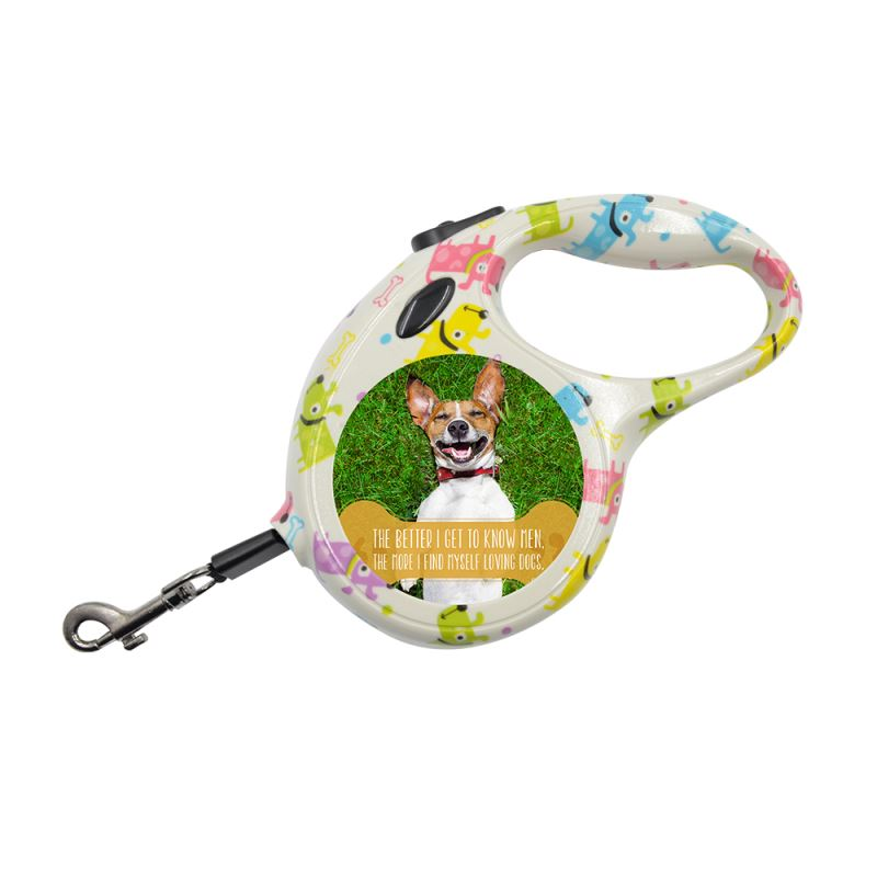 Pet Leash - Small - Dog Pattern