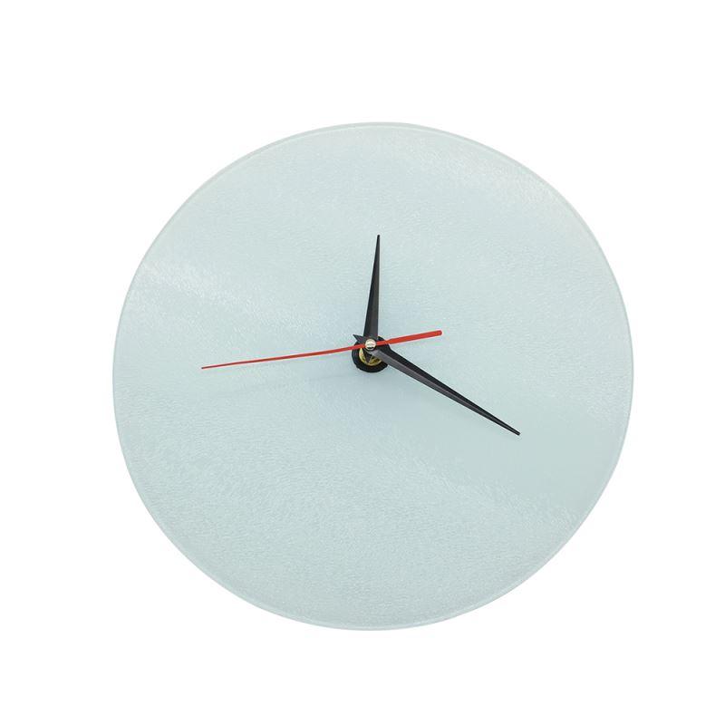 Glass Clock Frame-Round-Glossy-20CM