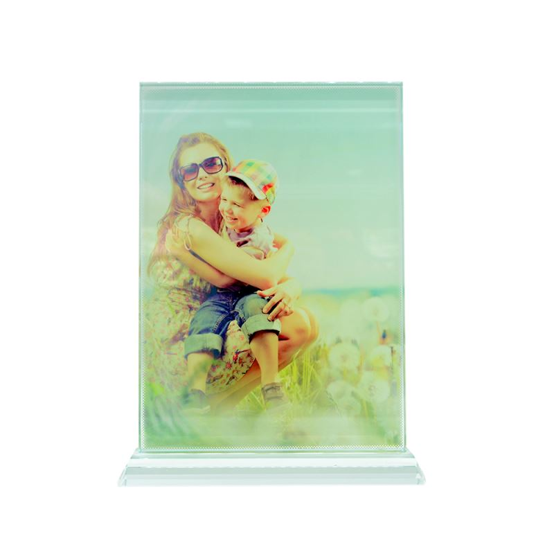 personalised crystal photo frame for sublimation