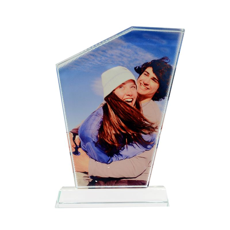 sublimation crystal photo frame