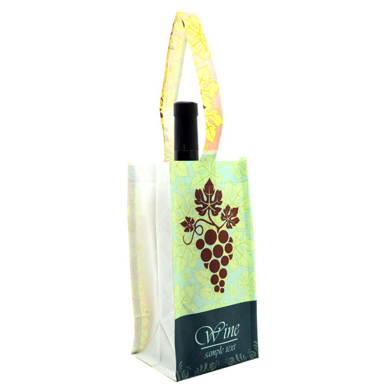 personalized wine tote for sublimation