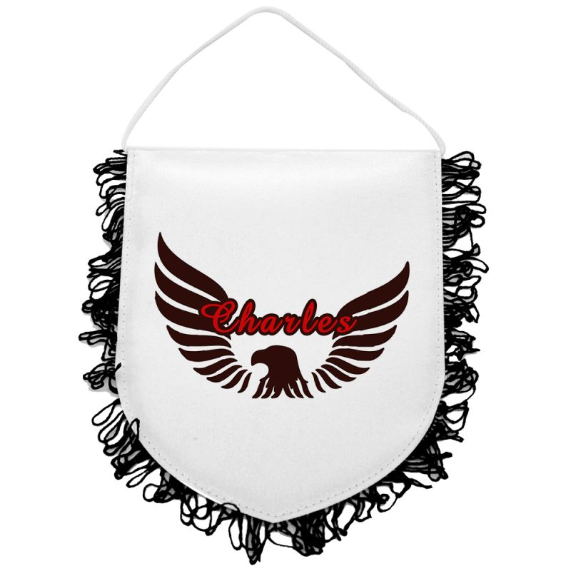 Sublimation Blank Flag With Tassel