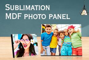 Sublimation photo panel