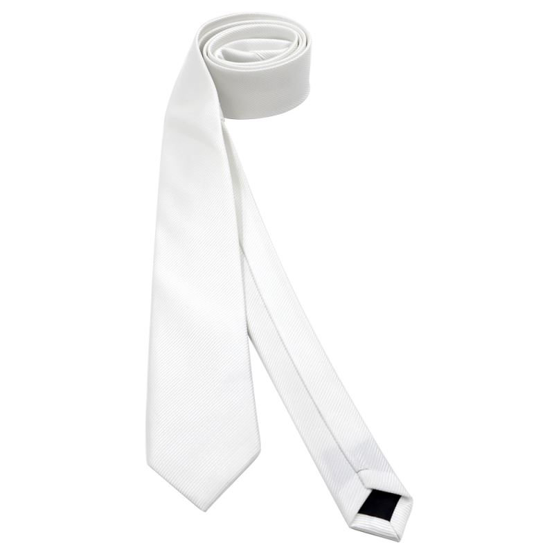 Woven Polyester Necktie with Pinstripe-6CM