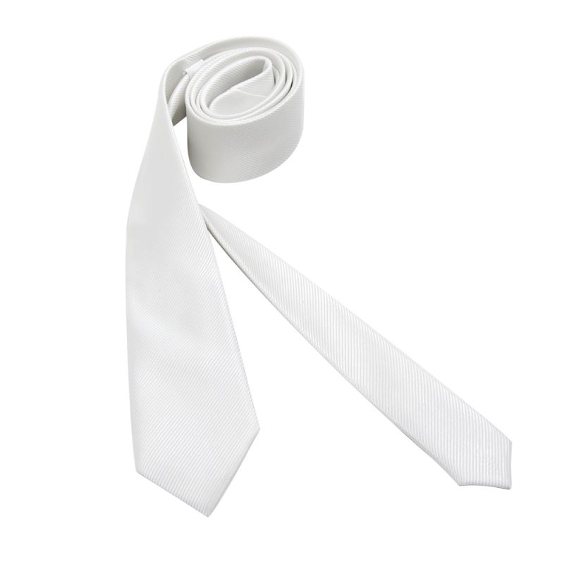 sublimation woven polyester necktie with pinstripe