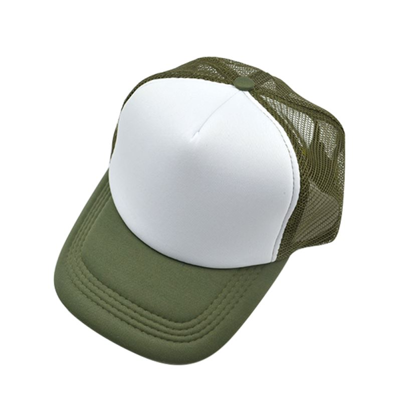Adult Mesh Cap - Military Green
