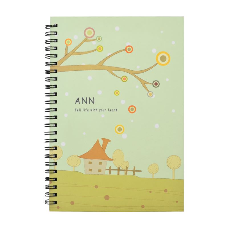A5 Notebook with Fabric Cover