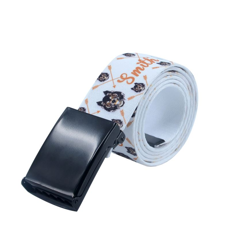 Sublimation Belt 4*120cm -Glossy Black