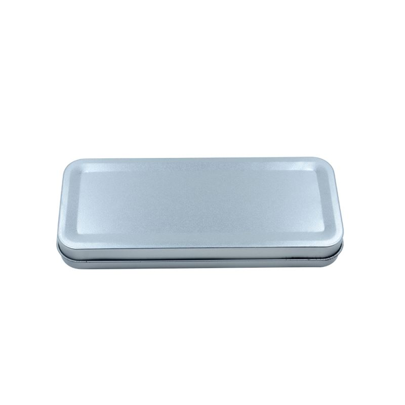 Metal Stationary Tin-Silver