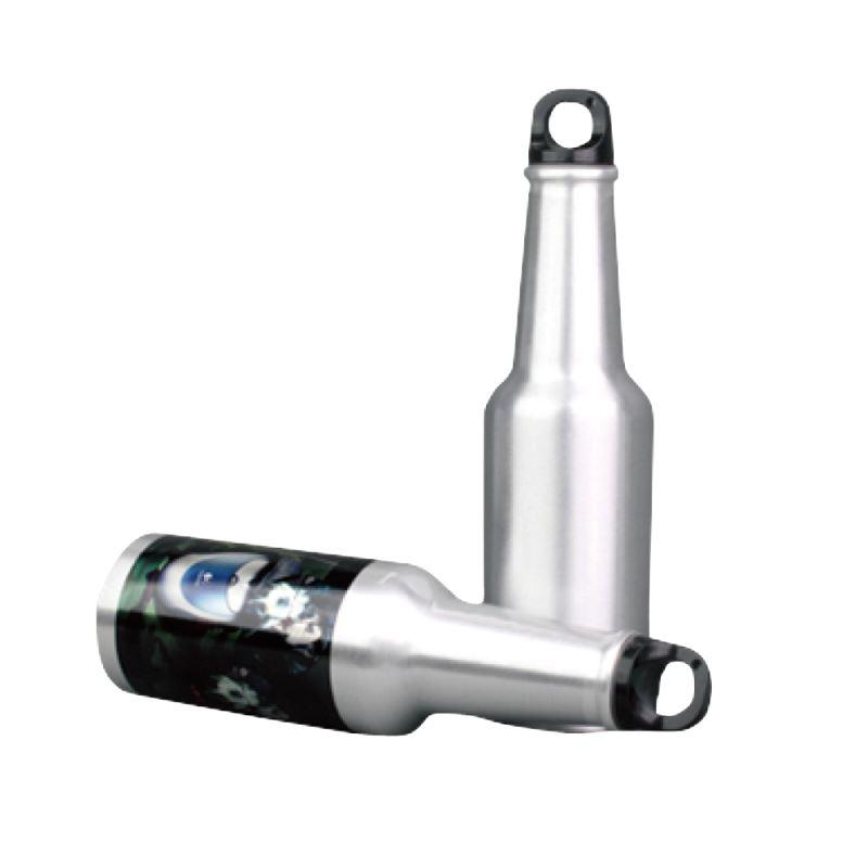 500ml Aluminium  Bottle silver color