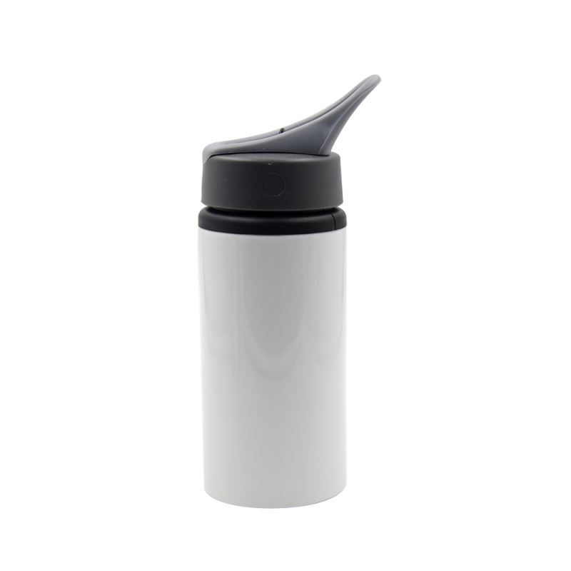 500ML Portable Aluminium Bottle-White