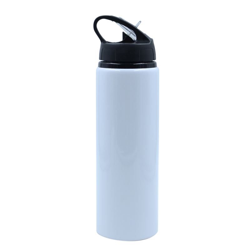Portable Aluminium Bottle-500/600/750ml-White