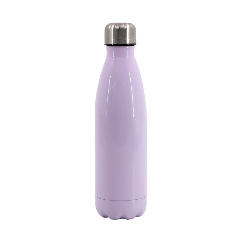 Cola Shape Stainless Steel Bottle-Purple