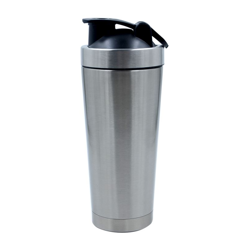 500ml Magic Mix Stainless Steel Bottle-Silver-Double wall