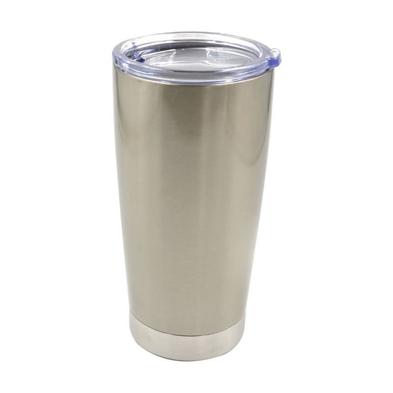 20OZ Stainless Steel Vacuum Travel Tumbler-Silver