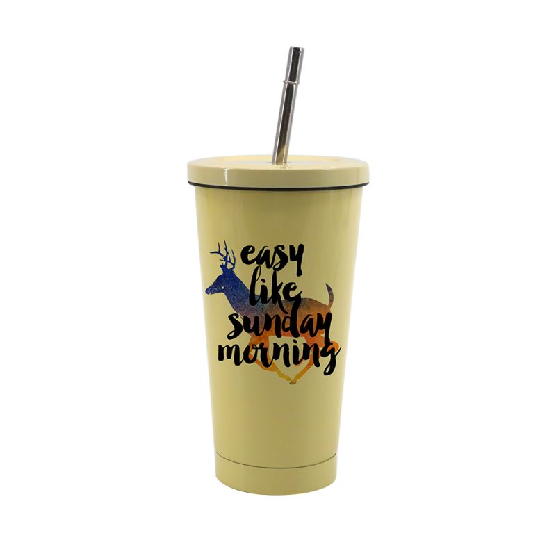 450ML-Stainless-Steel-Cup-Yellow