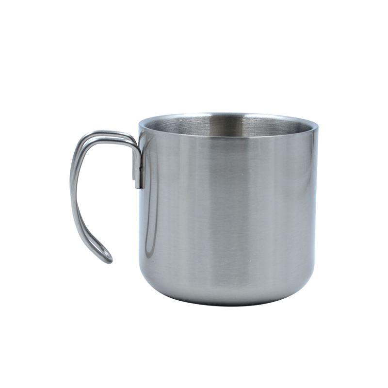 400ML Stainless Steel Cup - Silver