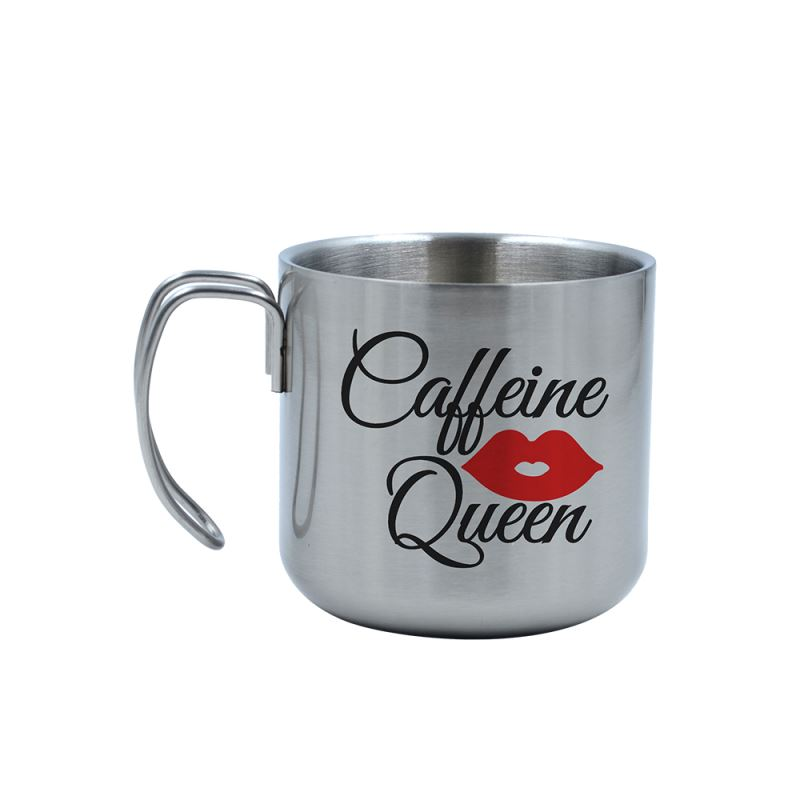 400ML Stainless Steel Cup-Silver
