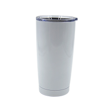 20OZ Stainless Steel Vacuum Travel Tumbler-White