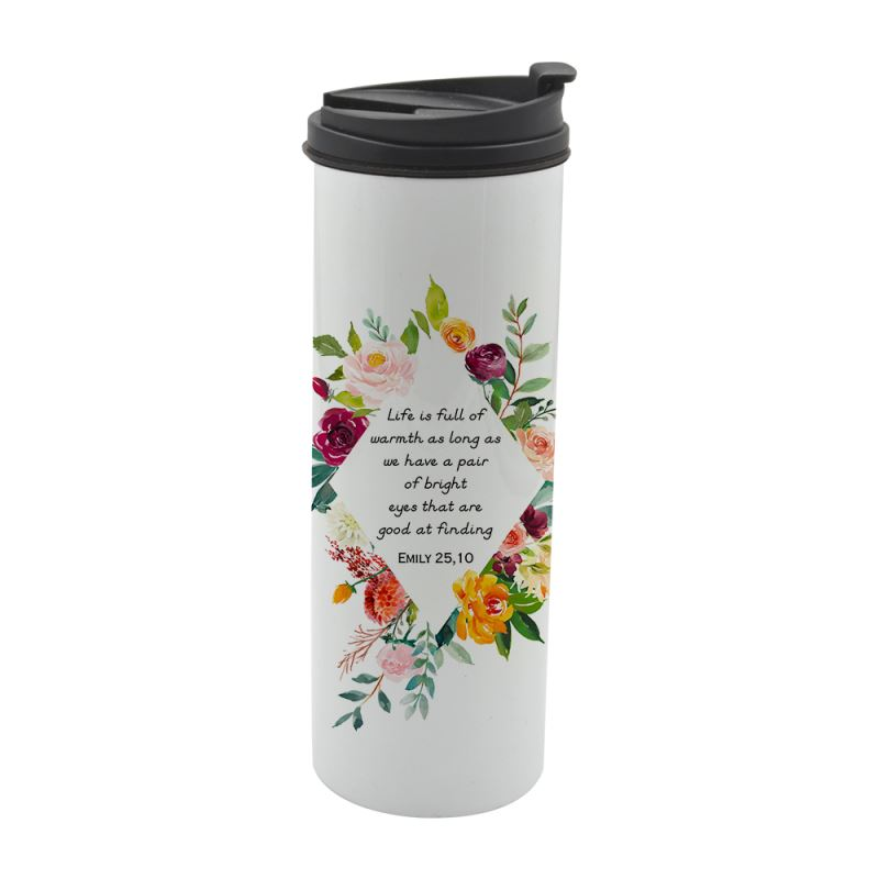 500ML-Stainless-Steel-cup- White