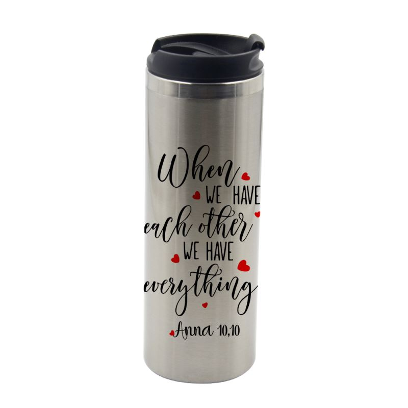 stainless steel sublimation tumbler