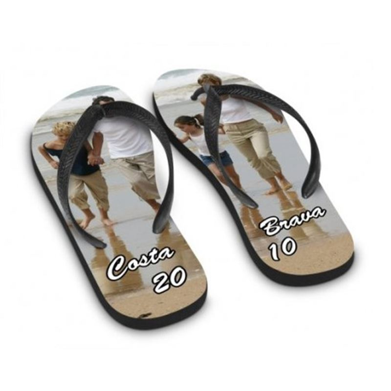 Kids Flip Flop-Black Sole