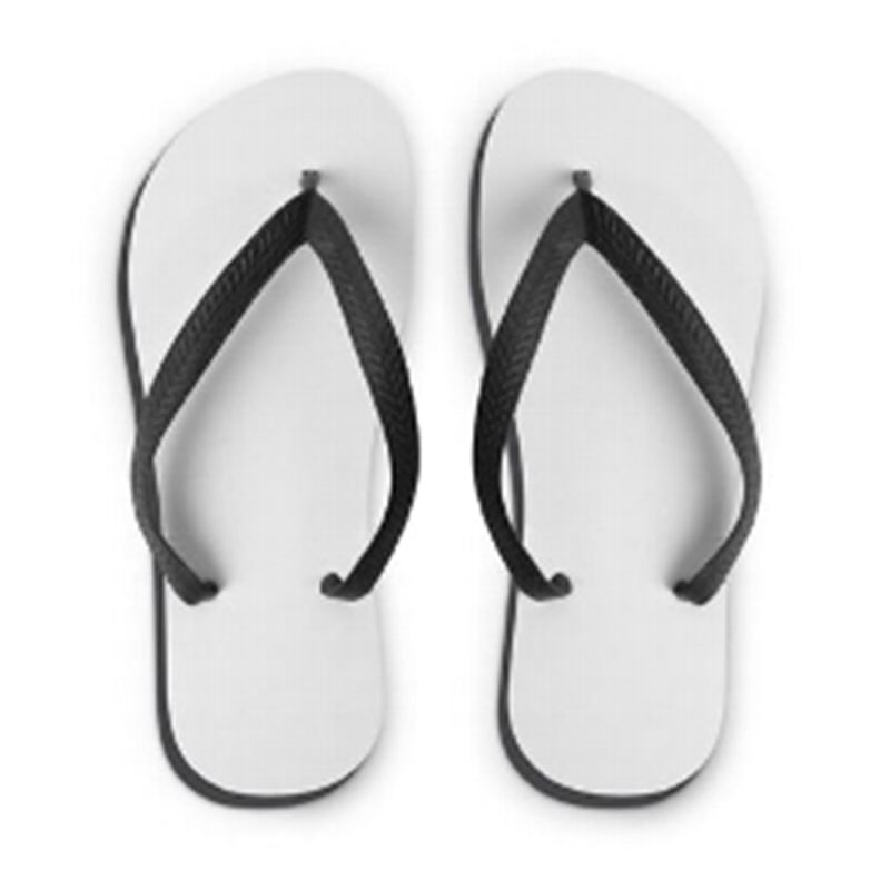 flip flop personalised by sublimation  