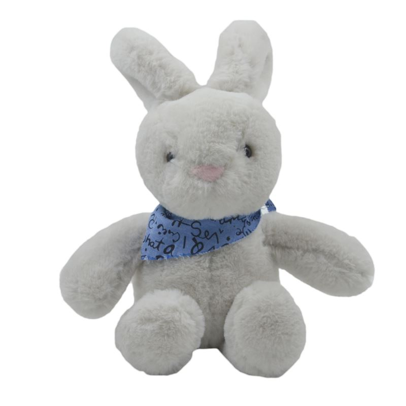 Rabbit With T-shirt-Grey-23CM