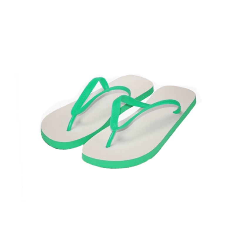 Adults Flip Flop-Green Sole-S