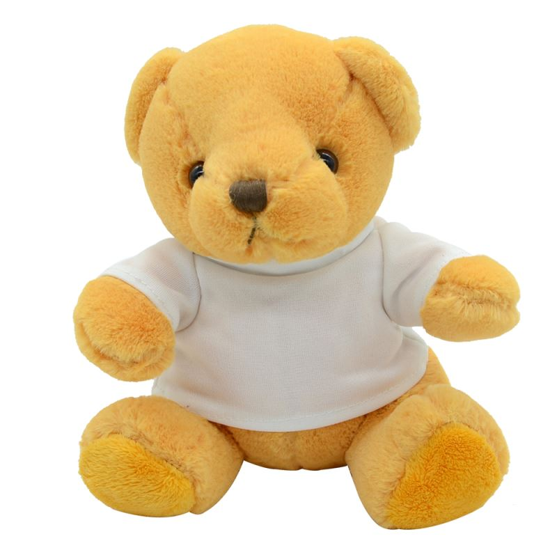 Yellow Teddy Bear With T-shirt