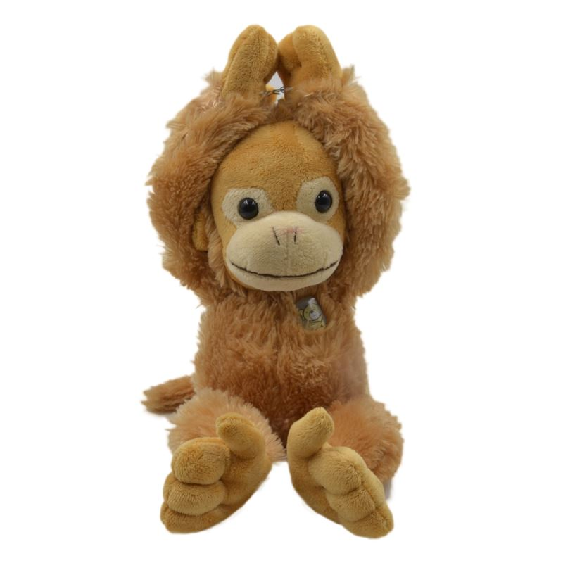 Monkey with T-shirt - Light Brown