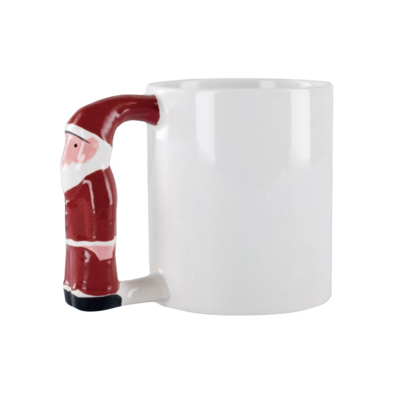 11oz St.Claus Handle Mug