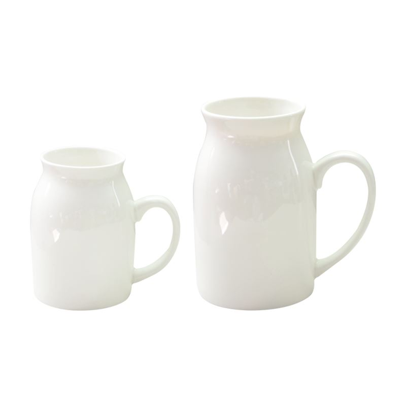 Milk White Mug