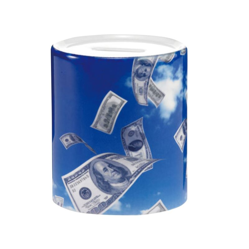 11oz Ceramic Money Saver