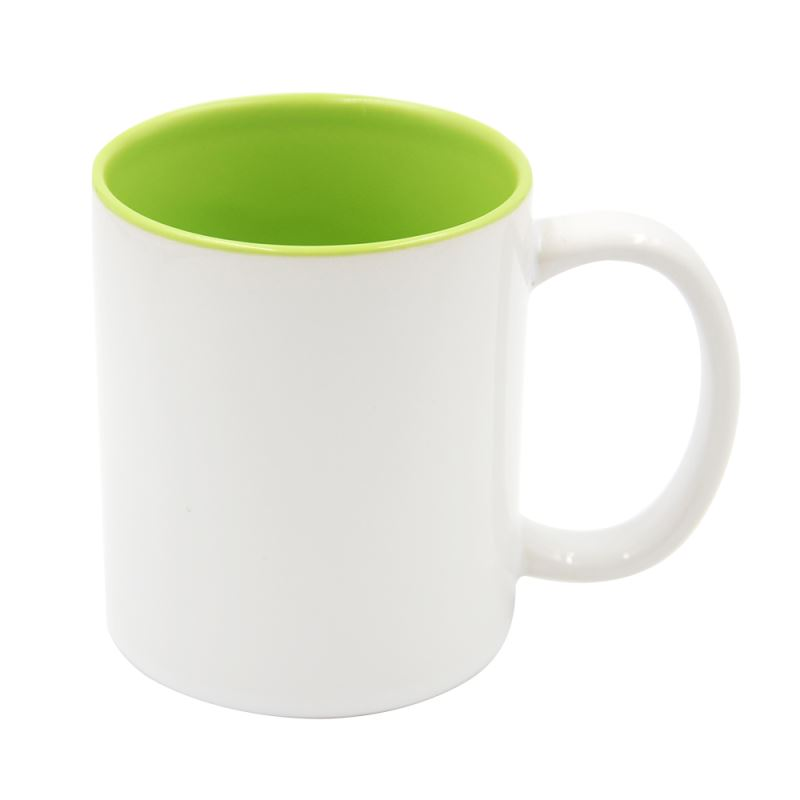 11OZ Two Tone Color Mug - LightGreen
