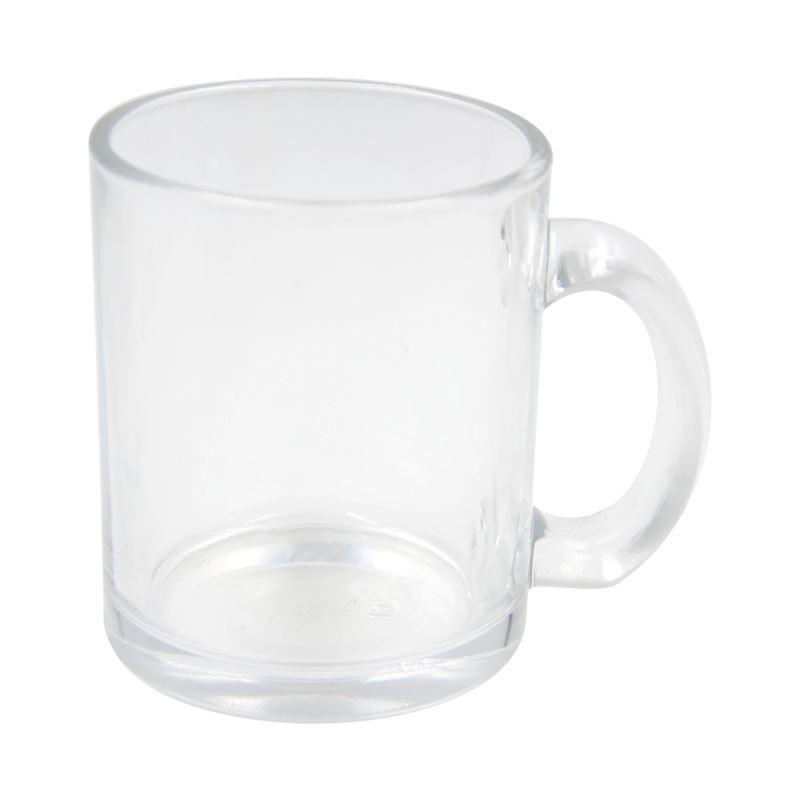 11oz Glass Mug Clear