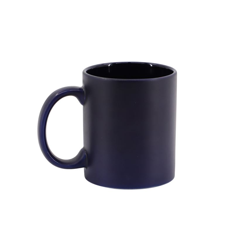 11oz Full Color Mug(Matt)-black