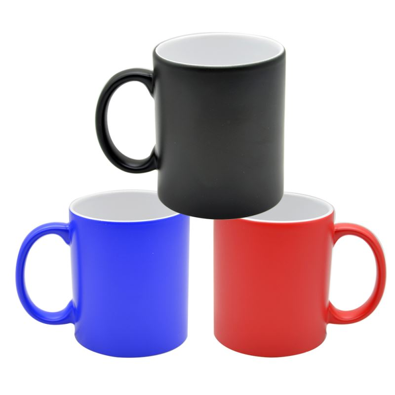11OZ Full Color Change Mug(Glossy)- Black