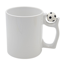 11oz Football Handle Mug