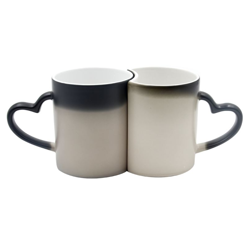 11oz Lover Color Change Mug-Glossy - Black